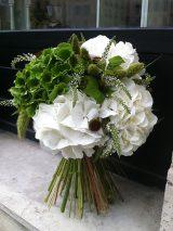 アジサイのブーケ/tilt flowers