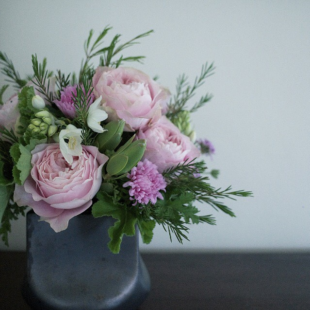 【レッスン情報】バラとハーブのアレンジメントレッスンのお知らせ