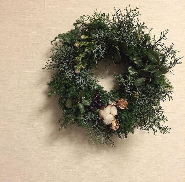 【レッスン情報】クリスマスのリースのレッスンのお知らせ