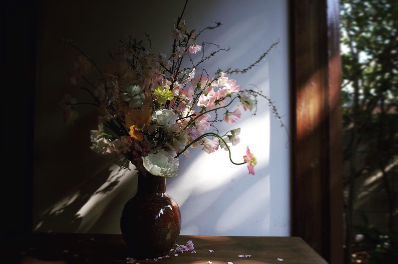【レッスン情報】桜を活けるレッスン